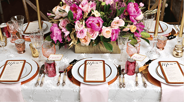 Where to Splurge for your Event!