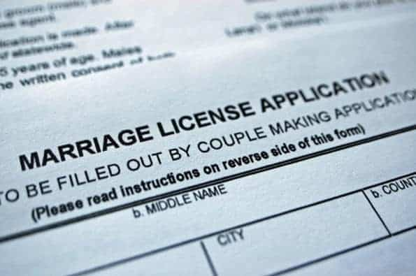 How to Apply for your Marriage License if you are Not a Resident of Florida