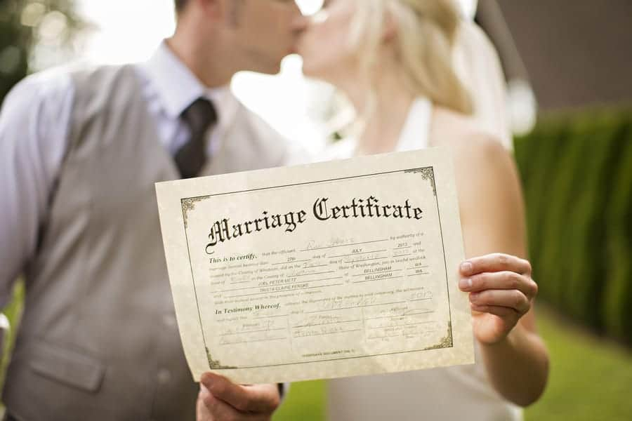 The Process of Marriage Licenses for Non-Floridians